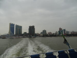 Dar Es Salaam City Scape from Sea